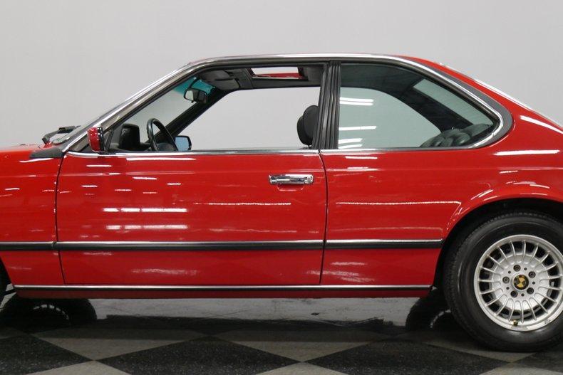 1989 BMW 635csi 22