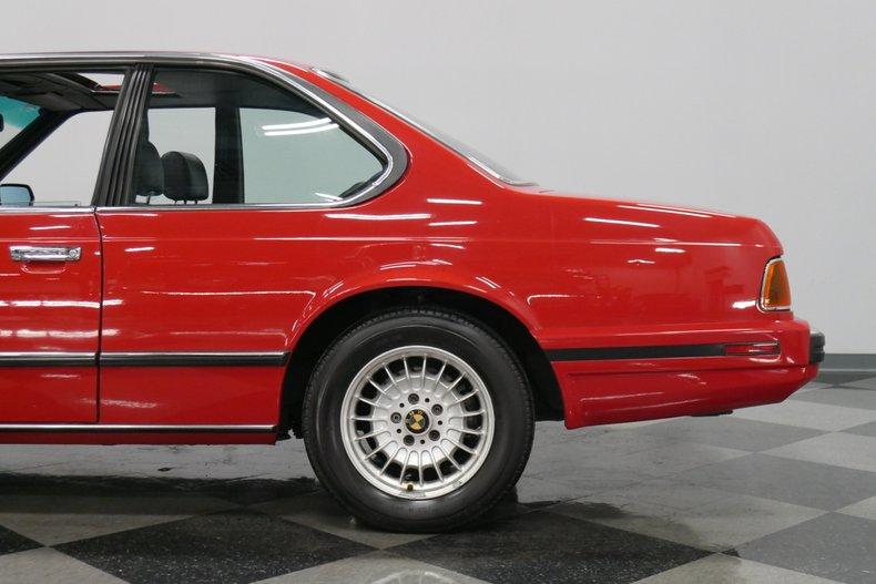 1989 BMW 635csi 23