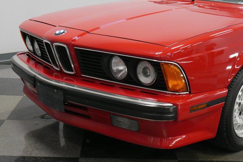1989 BMW 635csi 24