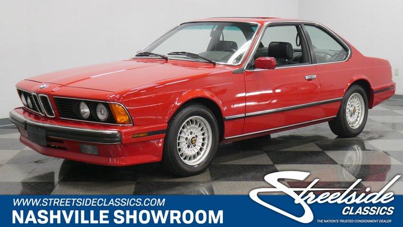 For Sale: 1989 BMW 635csi
