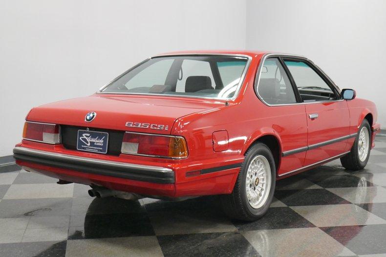 1989 BMW 635csi 12
