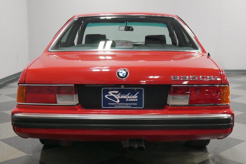 1989 BMW 635csi 11