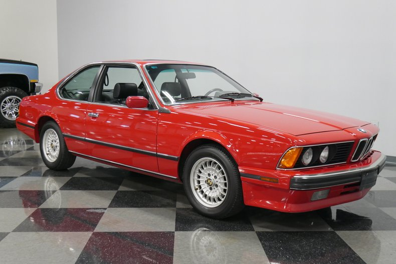1989 BMW 635csi 16