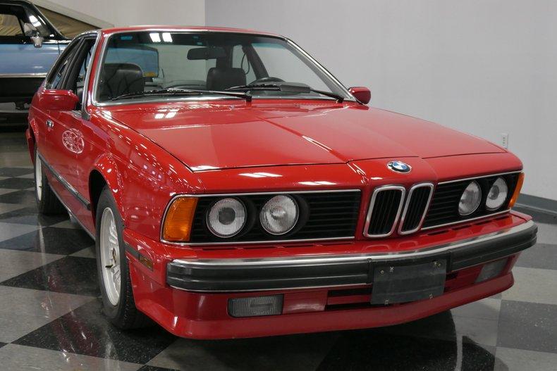 1989 BMW 635csi 18