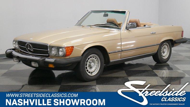 1985 Mercedes-Benz 380SL For Sale