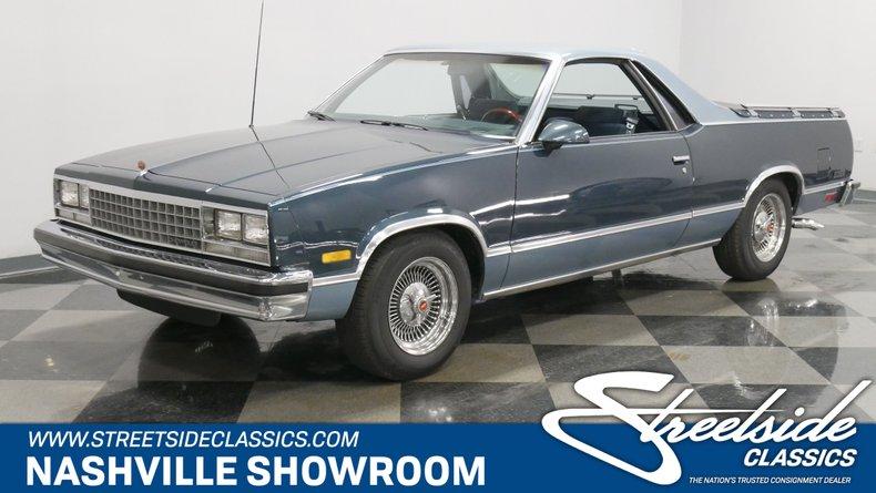 1987 Chevrolet El Camino 1