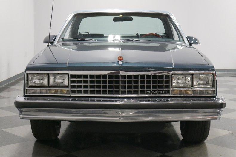 1987 Chevrolet El Camino 20