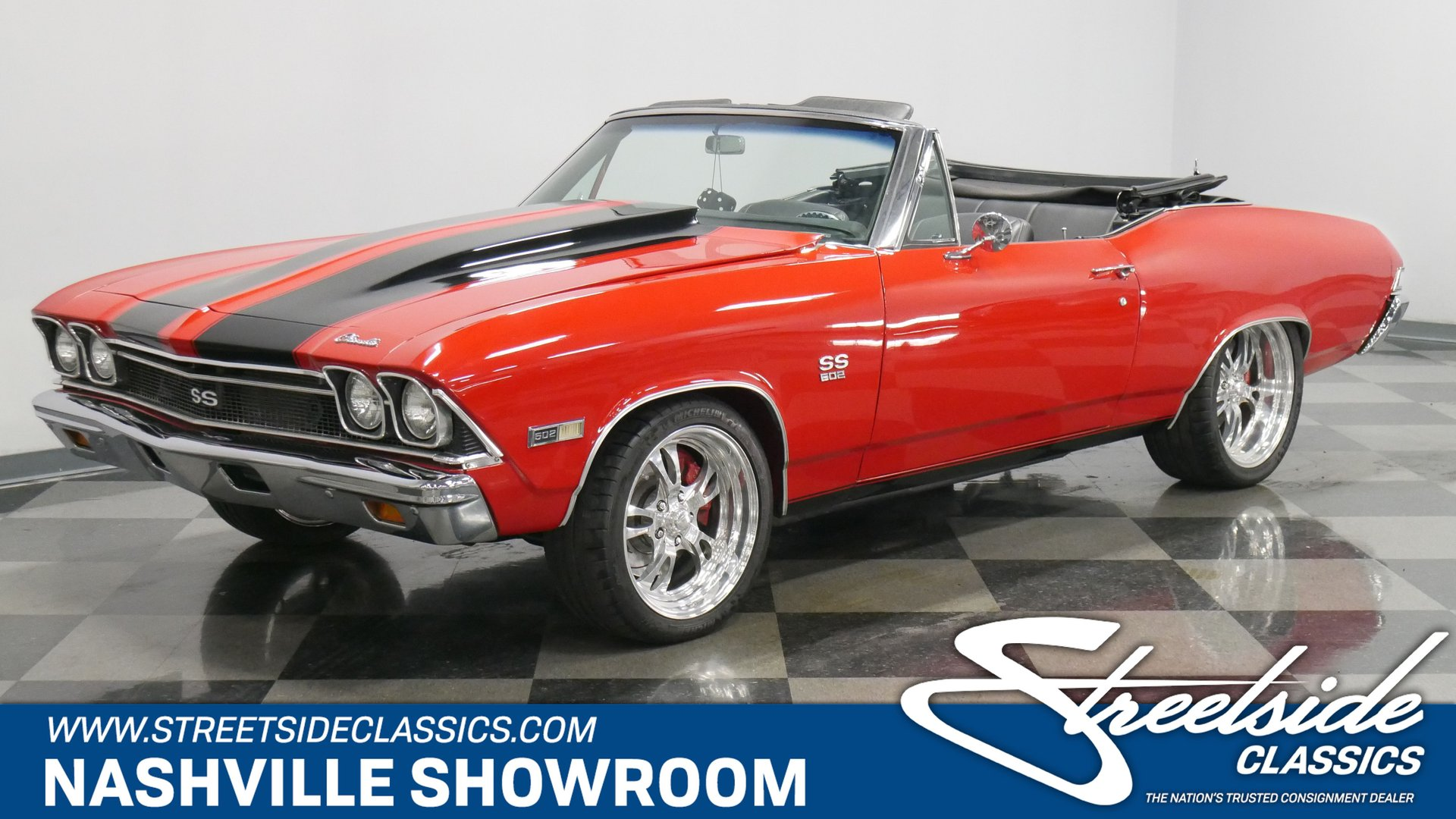 1968 Chevrolet Chevelle SS 502 Pro Touring for sale #174166