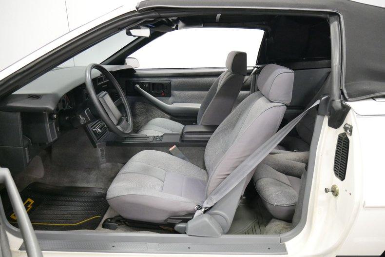 1988 Chevrolet Camaro 4