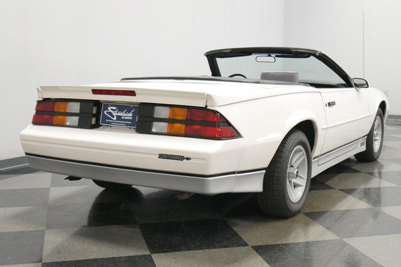 1988 Chevrolet Camaro 12