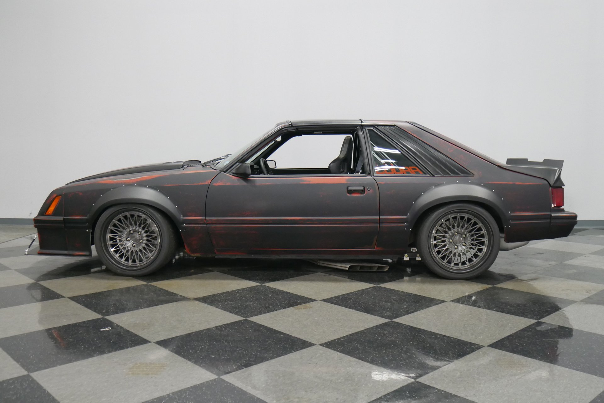 1981 ford mustang cobra project sydewinder