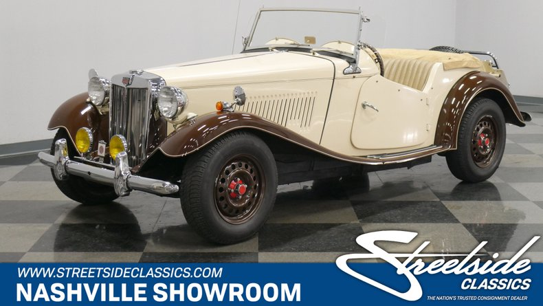 For Sale: 1952 MG TD