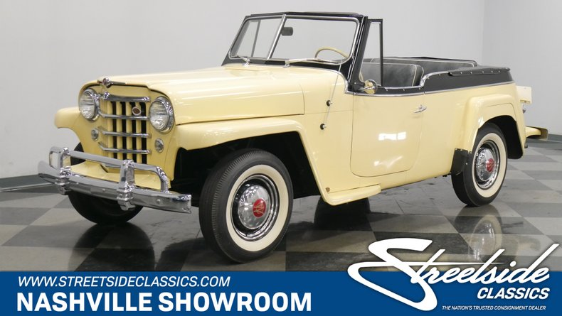 For Sale: 1951 Willys Jeepster