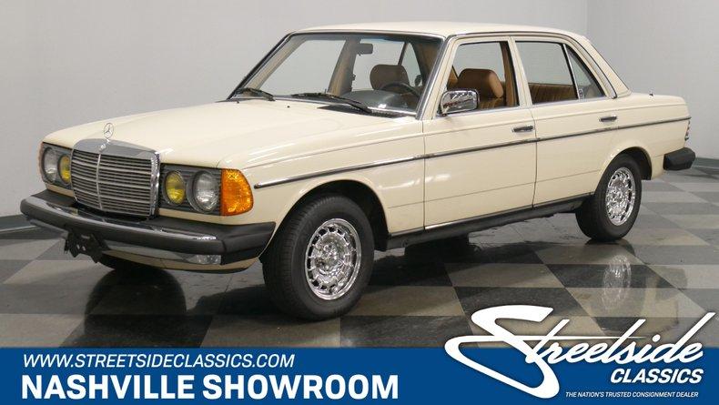 For Sale: 1984 Mercedes-Benz 300D