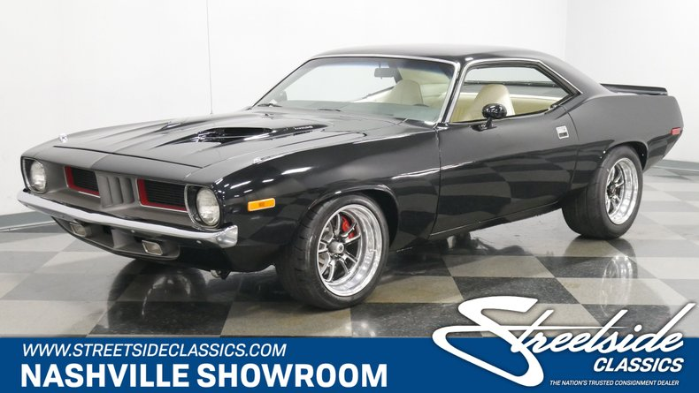 For Sale: 1973 Plymouth Cuda
