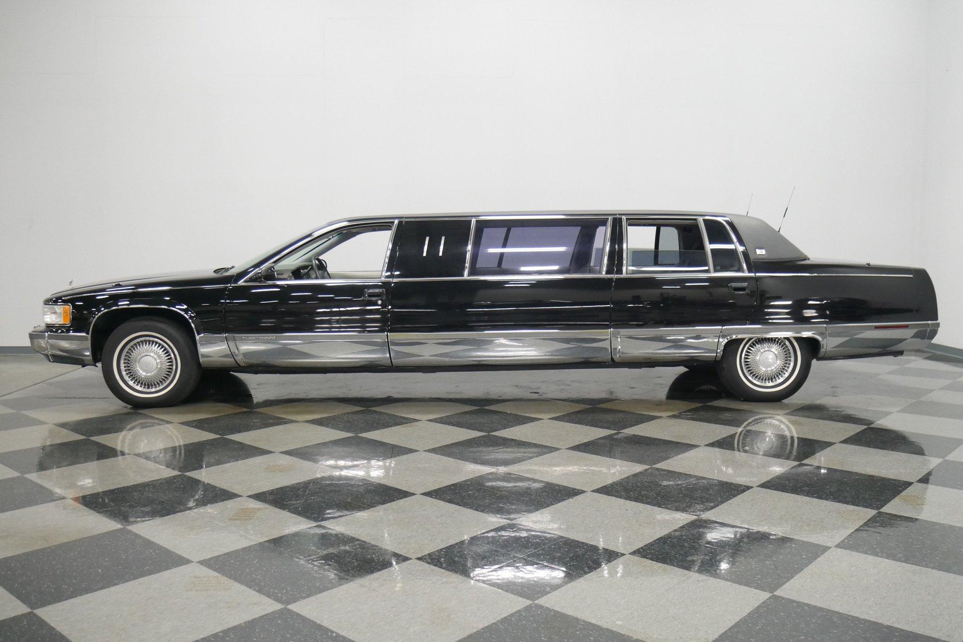 1995 cadillac fleetwood limousine