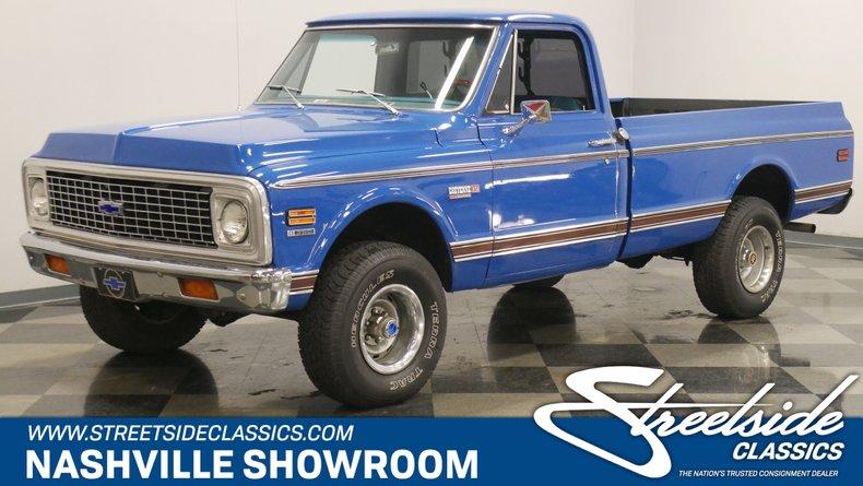For Sale: 1972 Chevrolet K10