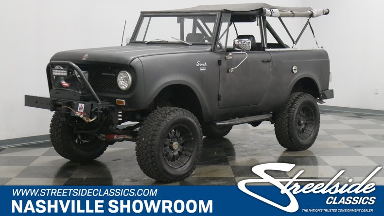 For Sale: 1968 International Scout