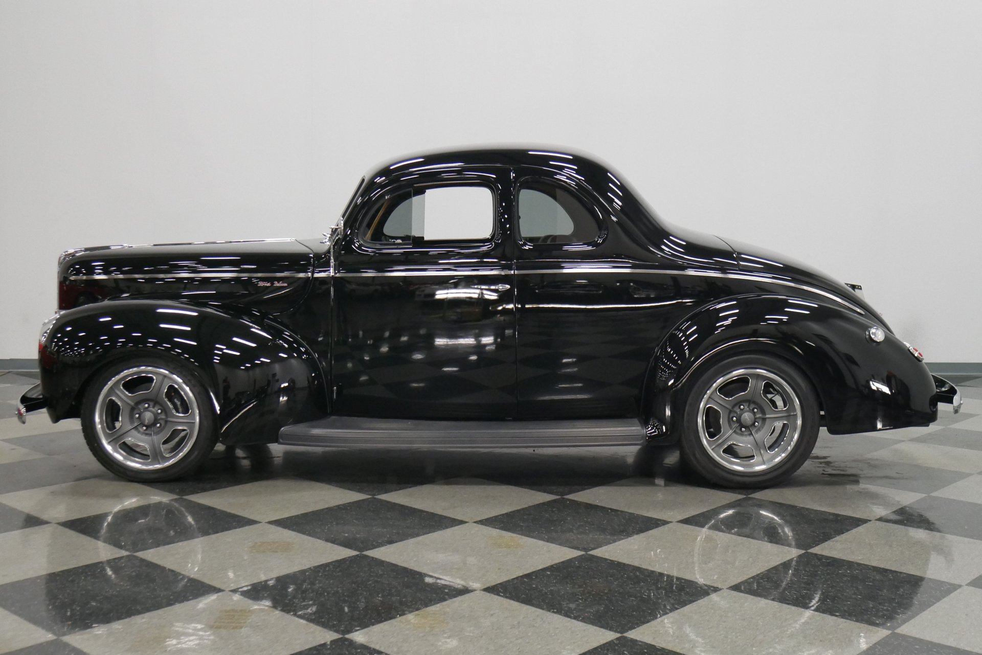 1940 ford deluxe business coupe restomod