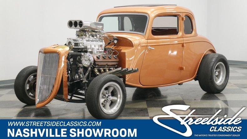 1934 Ford 5-Window 1