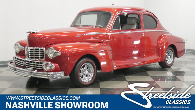 For Sale: 1947 Lincoln Club Coupe