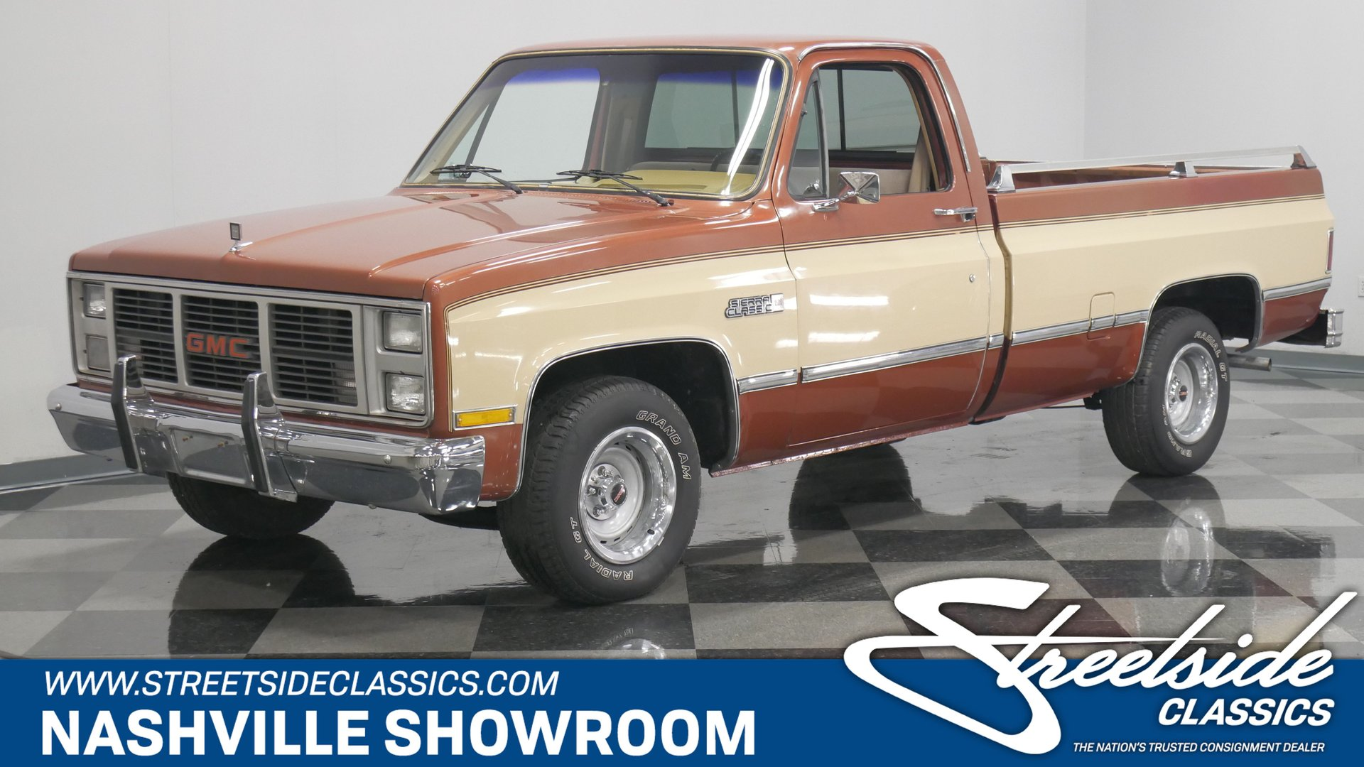 1986 Gmc 1500 Classic Cars For Sale Streetside Classics The Nation S 1 Consignment Dealer