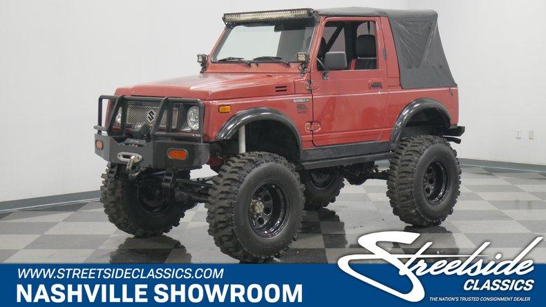 For Sale: 1988 Suzuki Samurai