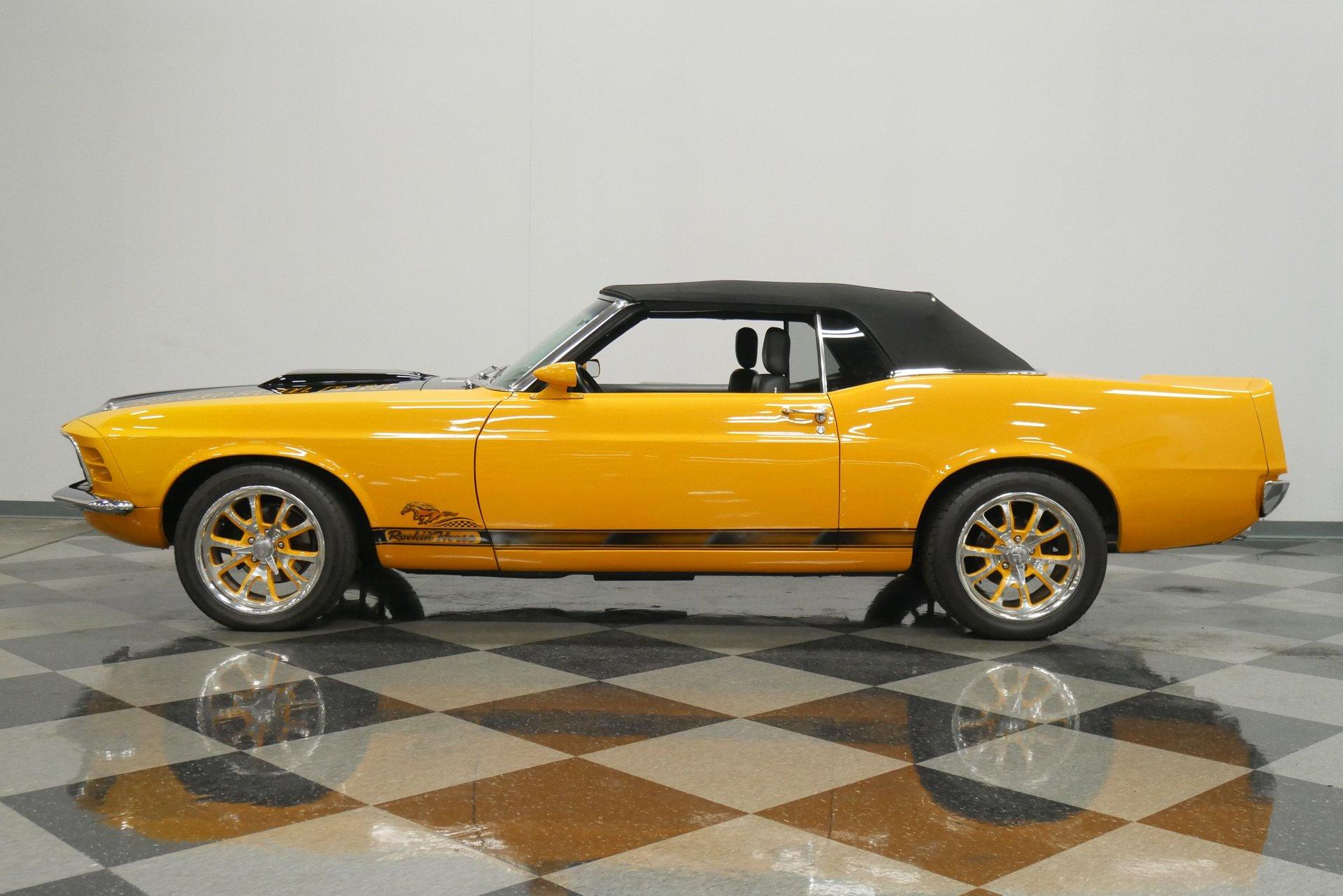 1970 ford mustang restomod convertible