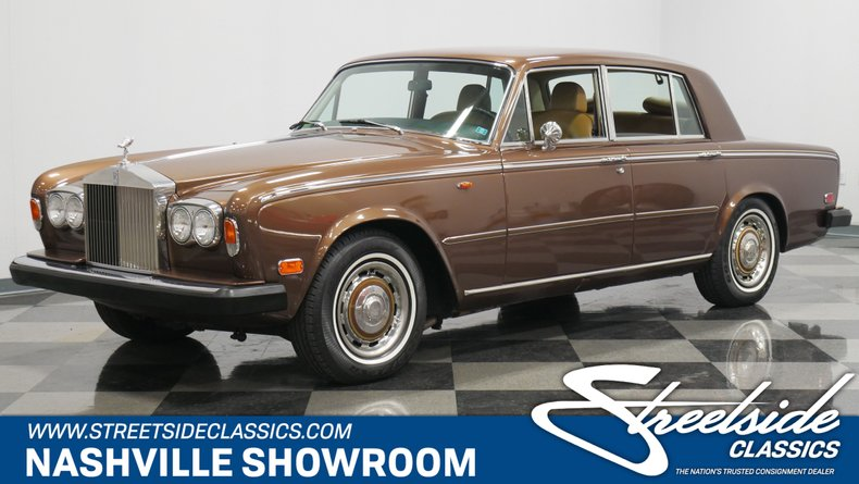 For Sale: 1975 Rolls-Royce Silver Shadow