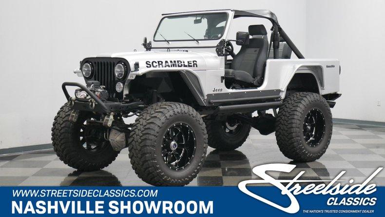 For Sale: 1982 Jeep CJ8
