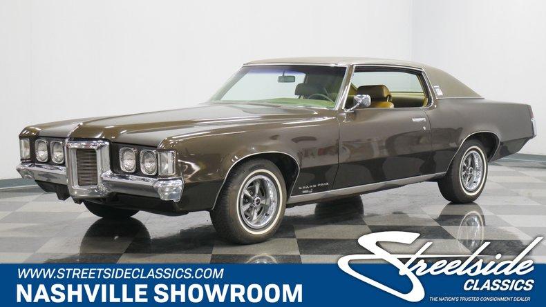 For Sale: 1969 Pontiac Grand Prix
