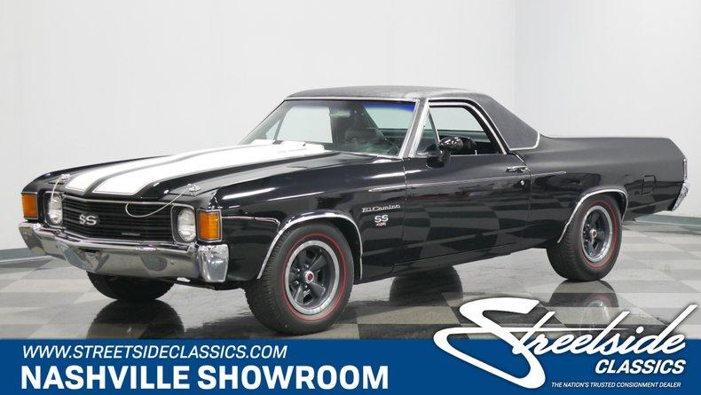 For Sale: 1972 Chevrolet El Camino