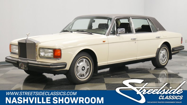 For Sale: 1981 Rolls-Royce Silver Spur