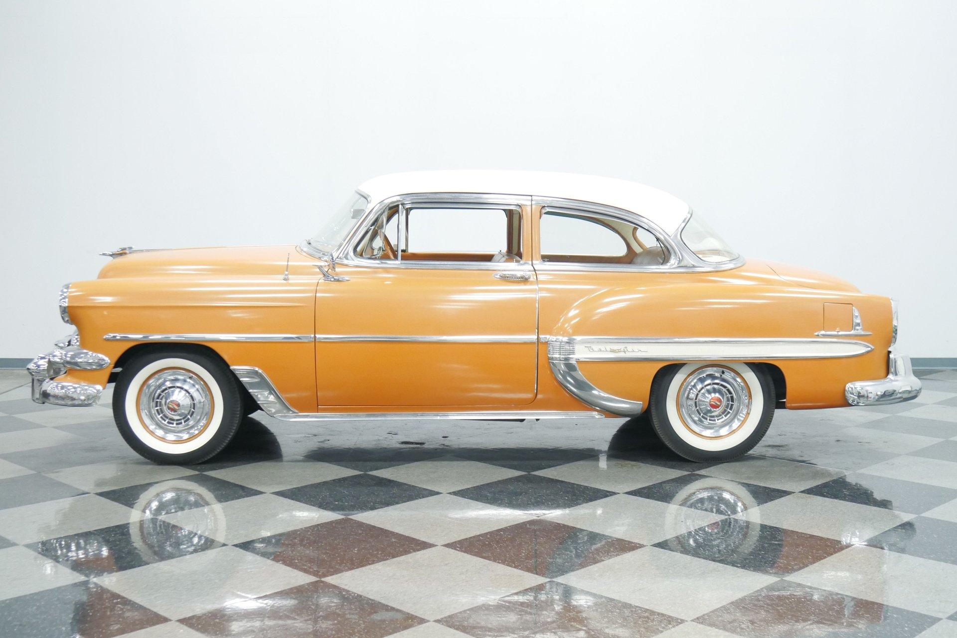 1954 chevrolet bel air 2 door sedan