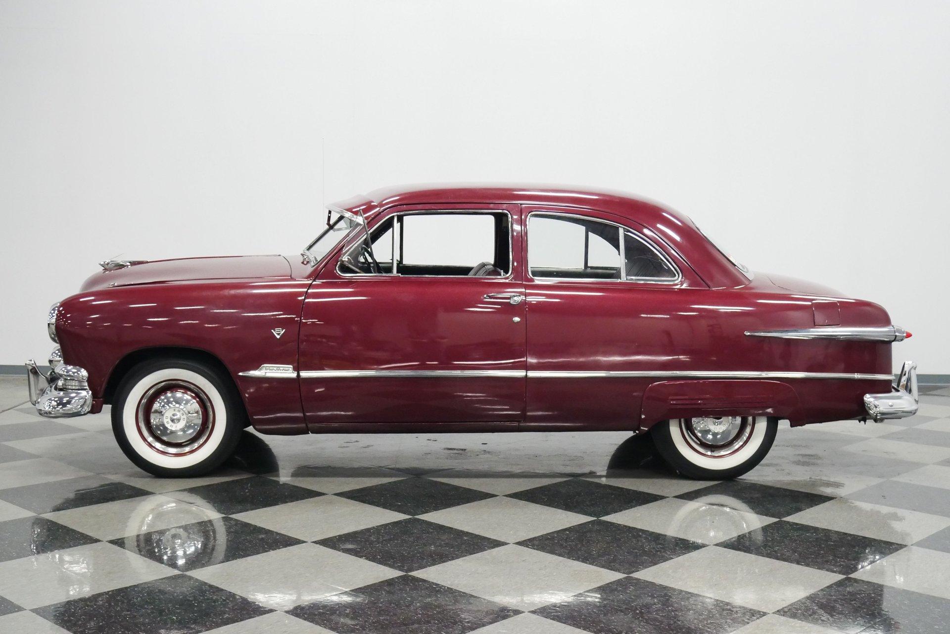 1951 ford custom tudor sedan
