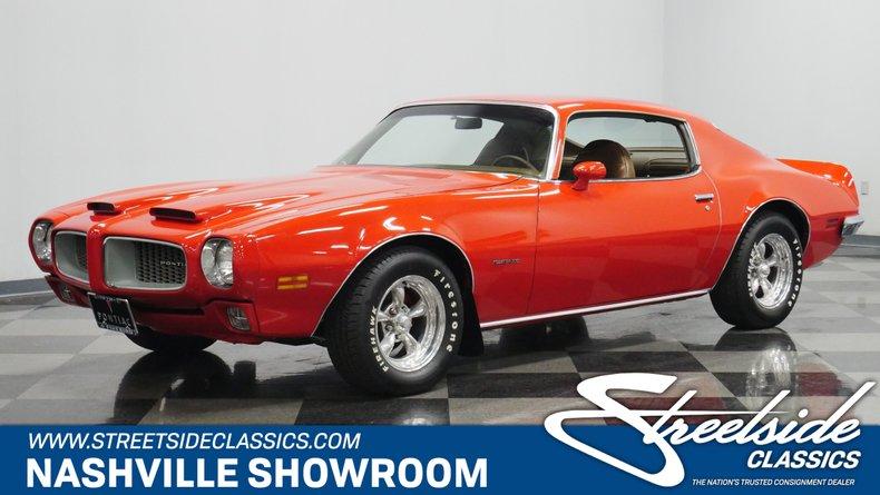 For Sale: 1972 Pontiac Firebird