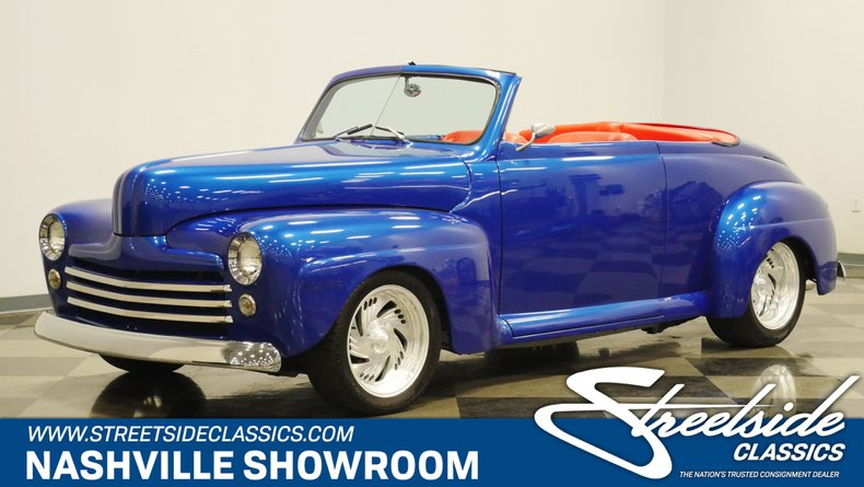 For Sale: 1948 Ford Roadster
