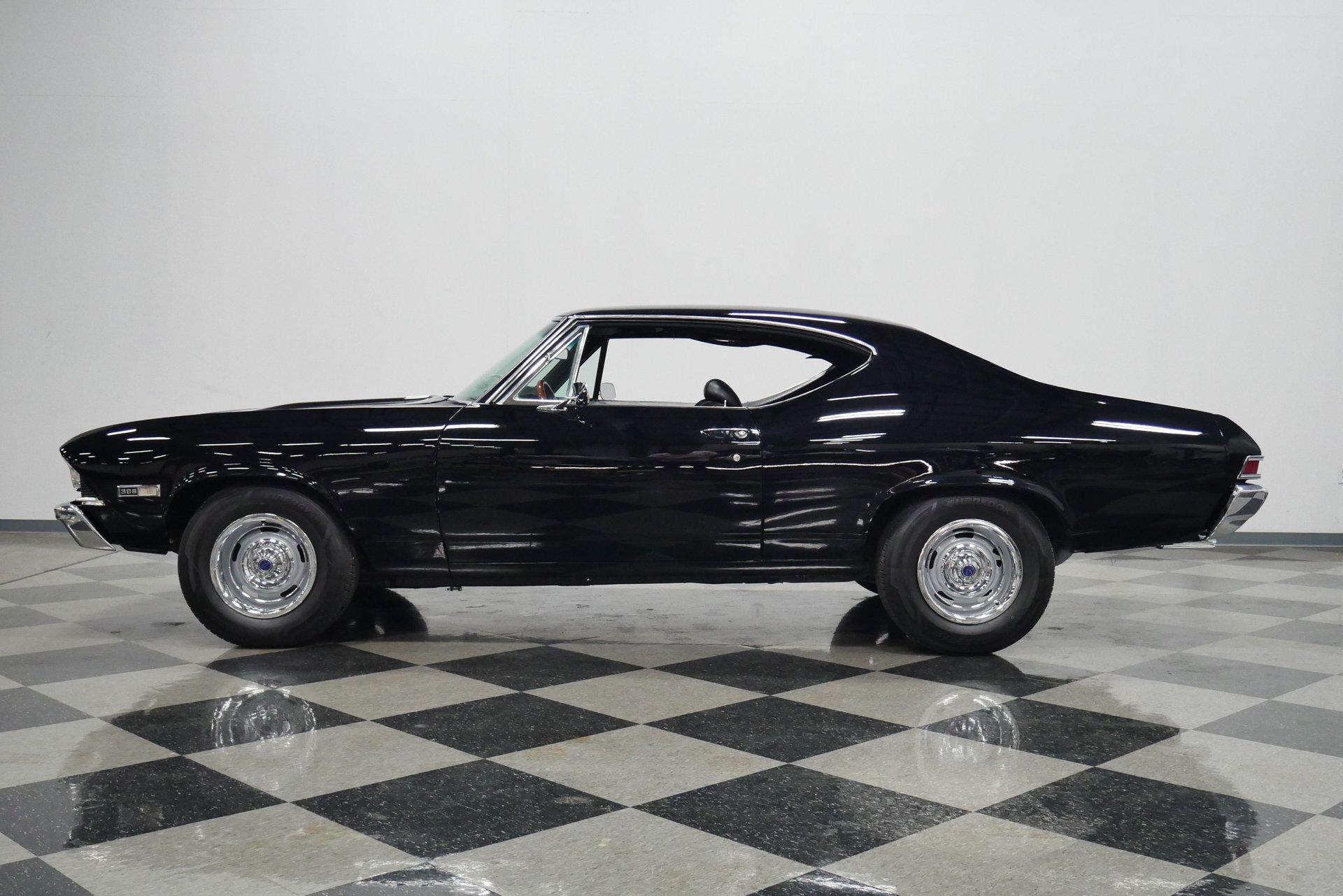 1968 chevrolet chevelle ss tribute