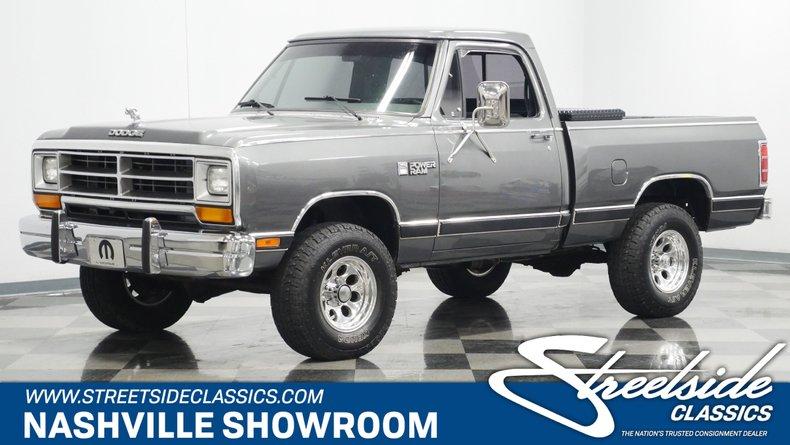 For Sale: 1987 Dodge Power Ram
