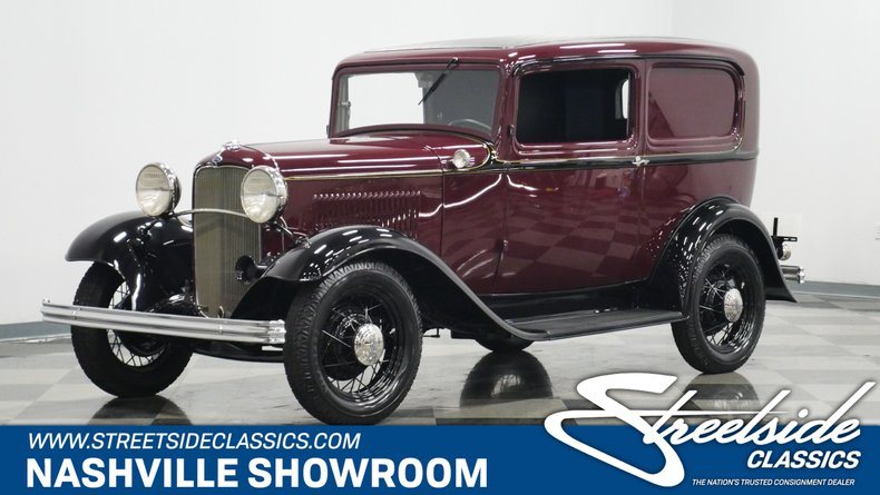 For Sale: 1932 Ford Sedan Delivery