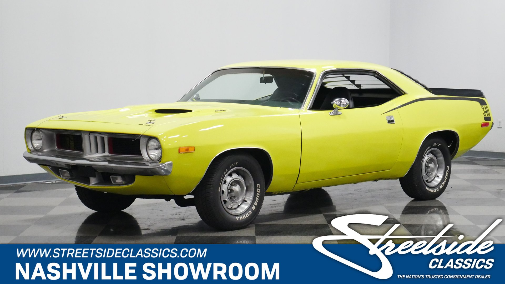 1972 plymouth cuda 340 tribute