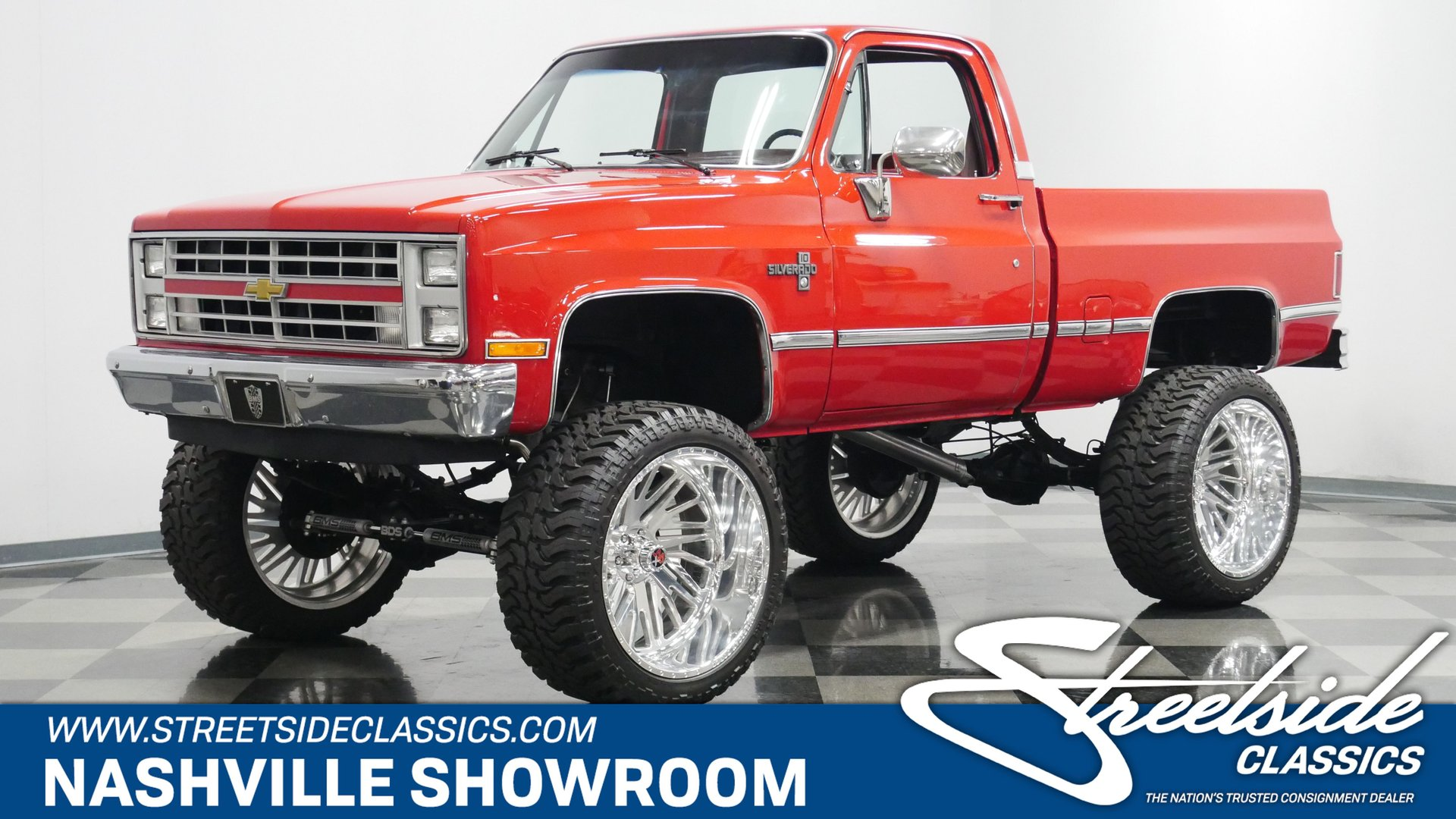 1985 Chevrolet K10 Classic Cars For Sale Streetside Classics The Nation S 1 Consignment Dealer