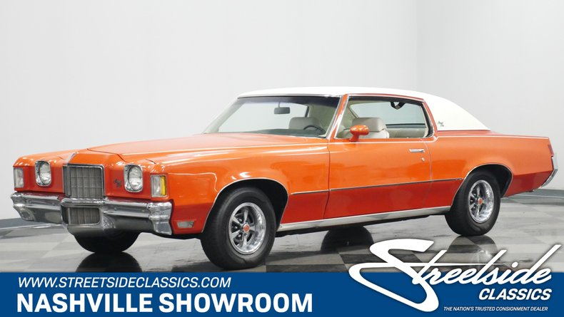 For Sale: 1972 Pontiac Grand Prix
