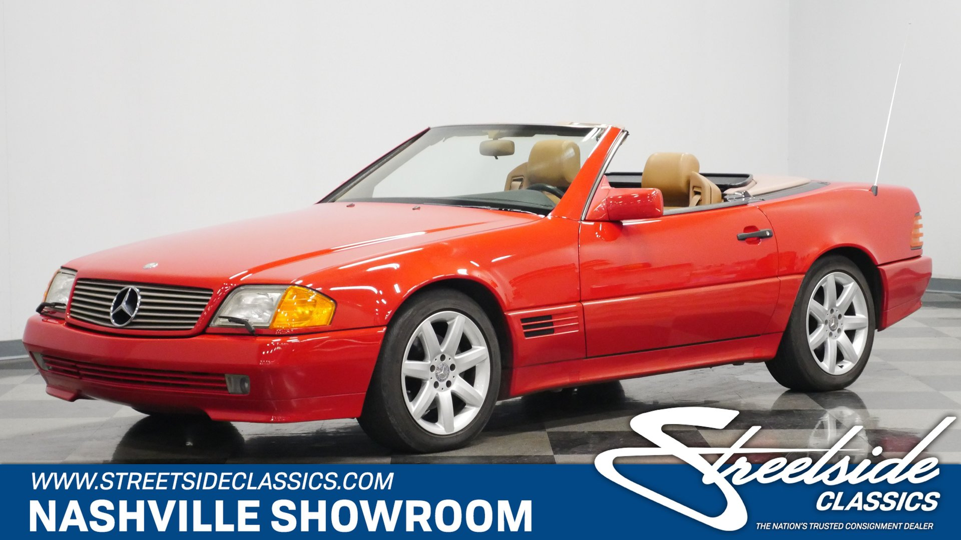 1991 mercedes benz sl500