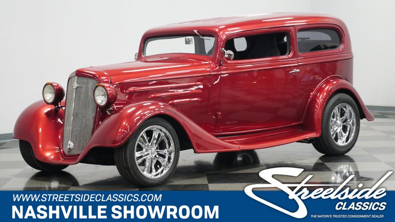 For Sale: 1935 Chevrolet Sedan
