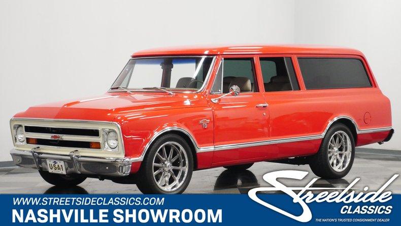 For Sale: 1967 Chevrolet Suburban