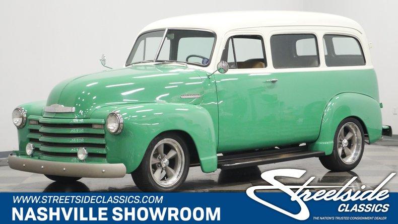 For Sale: 1951 Chevrolet Suburban