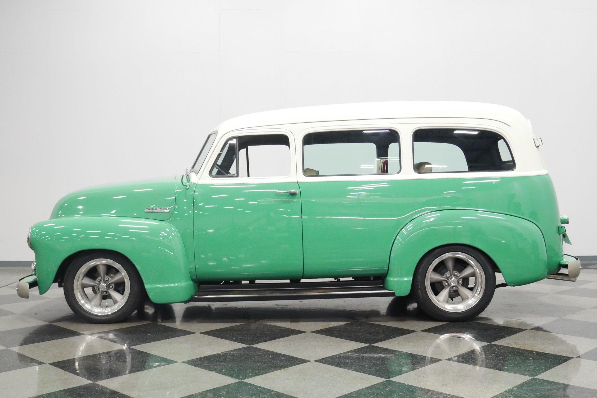 1951 chevrolet suburban carryall