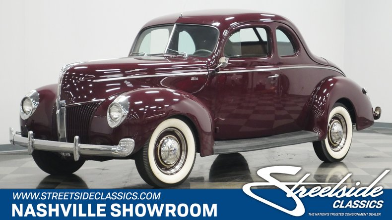 For Sale: 1940 Ford Deluxe