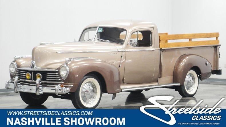 For Sale: 1947 Hudson Pickup